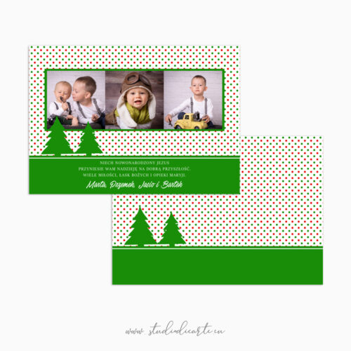 Karty świąteczne z Twoimi zdjęciami