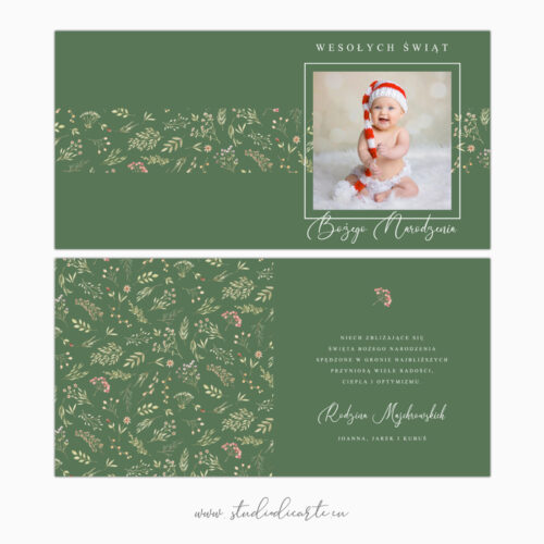 personalizowane kartki świąteczne