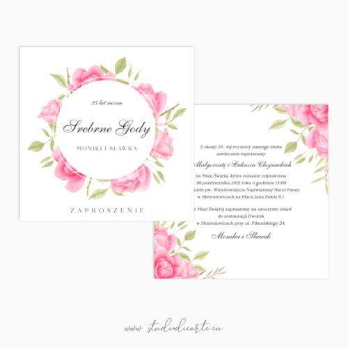 unikalne personalizowane zaproszenia na jubileusz rocznicę ślubu
